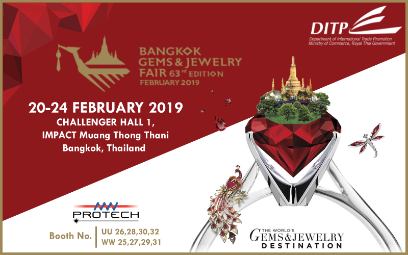Protech Transfer at the Bangkok Gems and Jewelry Annual Fair